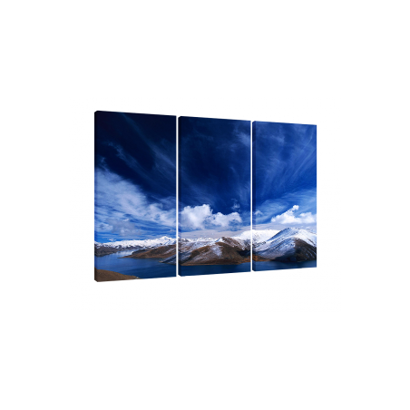 Split-Leinwand